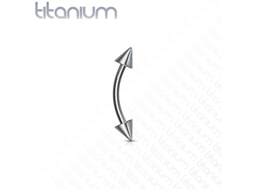 Микробанан Titanium Curves with Spikes